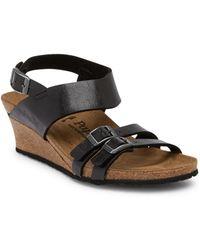 Birkenstock - Ellen Licorice Wedge Sandal - Discontinued - Lyst