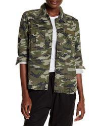 Pistola - Axel Embroidered Camo Print Shirt Jacket - Lyst