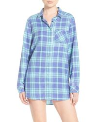 Make + Model - Plaid Night Shirt - Lyst