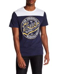 True Religion - Dimes Graphic Short Sleeve Football Tee - Lyst