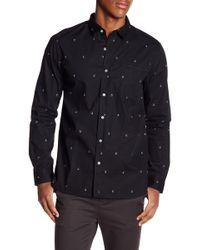 Tavik - Porter Slim Fit Patterned Shirt - Lyst