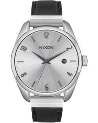 Nixon | Women's Bullet Leather Luxe Bracelet Watch, 38mm | Lyst