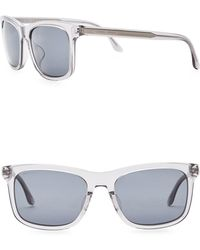 Giorgio Armani - Men's Wayfarer 56mm Acetate Frame Sunglasses - Lyst