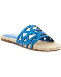 Fergie - Minx Slip-on Sandal - Lyst