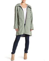 Pendleton - Long Hooded Anorak Jacket - Lyst