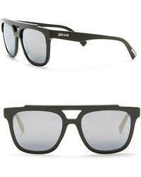 Just Cavalli - Aviator 56mm Plastic Sunglasses - Lyst