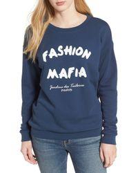 South Parade - Alexa - Fashion Mafia Sweatshirt - Lyst