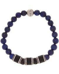 Steve Madden - Lapis Stretch Bracelet - Lyst