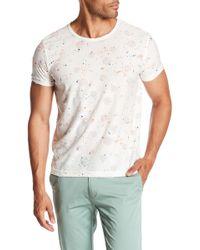 T.R. Premium | Distressed Speckle Print Shirt | Lyst
