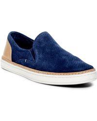 UGG - Adley Slip-on Leather Sneaker - Lyst