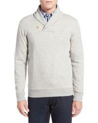Brooks Brothers - Knit Fleece Shawl Collar Pullover - Lyst