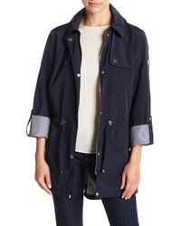 Tommy Hilfiger - Hooded Drawstring Jacket - Lyst