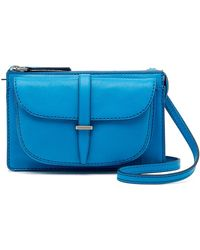 Fossil - Ryder Small Leather Crossbody - Lyst