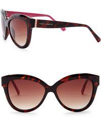Vince Camuto - Women's Glam 53mm Cat Eye Sunglasses - Lyst