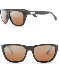 Revo - Grand Sixties Polarized 58mm Square Sunglasses - Lyst