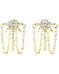 Elizabeth and James - Rigel Jacket Earrings - Lyst