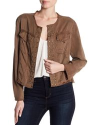 Young Fabulous & Broke - Studded Jacket - Lyst