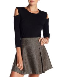 French Connection - Cold Shoulder Sweater Top - Lyst