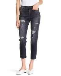 Hudson Jeans - Zoeey High Rise Straight Crop Denim - Lyst