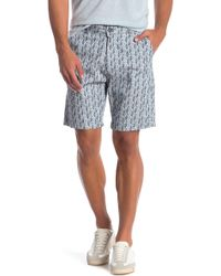 Benson - Printed Woven Shorts - Lyst