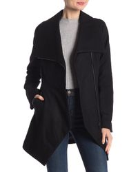 French Connection - Asymmetrical Hem Coat - Lyst