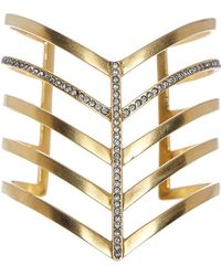 Paige Novick - Veronica Pave 5 Row Pointed Cuff - Lyst