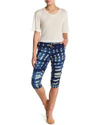 Chaser - Tie-dye Cropped Jogger - Lyst