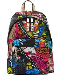 Marc Jacobs - Palm Parrot Biker Genuine Calf Hair Trim Backpack - Lyst