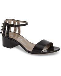 4885d03d666 Attilio Giusti Leombruni - Embellished Ankle Strap Sandal (women) - Lyst