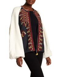Free People - Two Faced Embroidered Jacket - Lyst