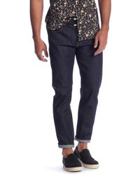 Current/Elliott - Selvedge Slim Fit Jeans - Lyst