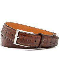 Magnanni - Leather Belt - Lyst