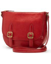 Frye - Claude Leather Crossbody Bag - Lyst