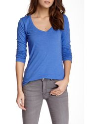 Threads For Thought - Vera V-neck Tee - Lyst