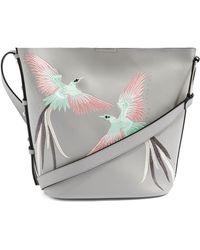 TOPSHOP - Rebecca Embellished Faux Leather Shoulder Bag - Lyst