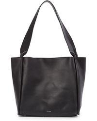 Skagen - Karalie Leather Shoulder Bag - Lyst