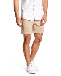 "Vintage 1946 - Stretch 7"" Inseam Twill Shorts - Lyst"