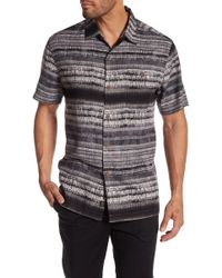 Tommy Bahama - Graphic Printed Silk Short Sleeve Shirt - Lyst
