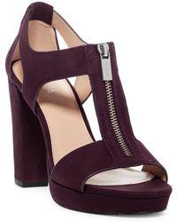 MICHAEL Michael Kors - Berkley Block Heel Sandal - Lyst