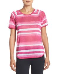 Brooks - Ghost Drilayer Stripe Tee - Lyst