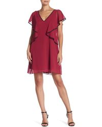 BCBGeneration - Ruffle Sleeve Dress - Lyst