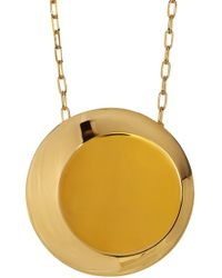 Botkier - Round Pendant Chain Necklace - Lyst