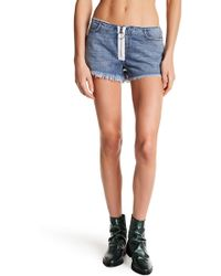 Siwy - Aaliyah Zip Front Shorts - Lyst