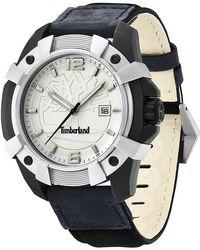 Timberland - Men's Chocorua Leather Strap Watch, 44mm - Lyst
