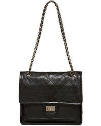 Zenith - Chain Strap Leather Shoulder Bag - Lyst