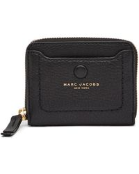 Marc Jacobs - Empire City Leather Zip Wallet - Lyst