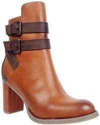 Rebels | Eve Contrast Strap Boots | Lyst
