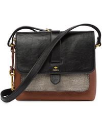 Fossil - Kinley Small Leather Crossbody Bag - Lyst