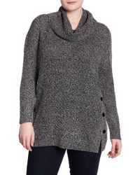 Lucky Brand - Alyssa Button Side Pullover (plus Size) - Lyst