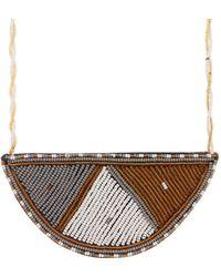 Soko - Maasai Half Moon Pendant Necklace - Lyst
